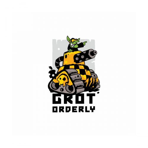 Projekt logo Grot Orderly